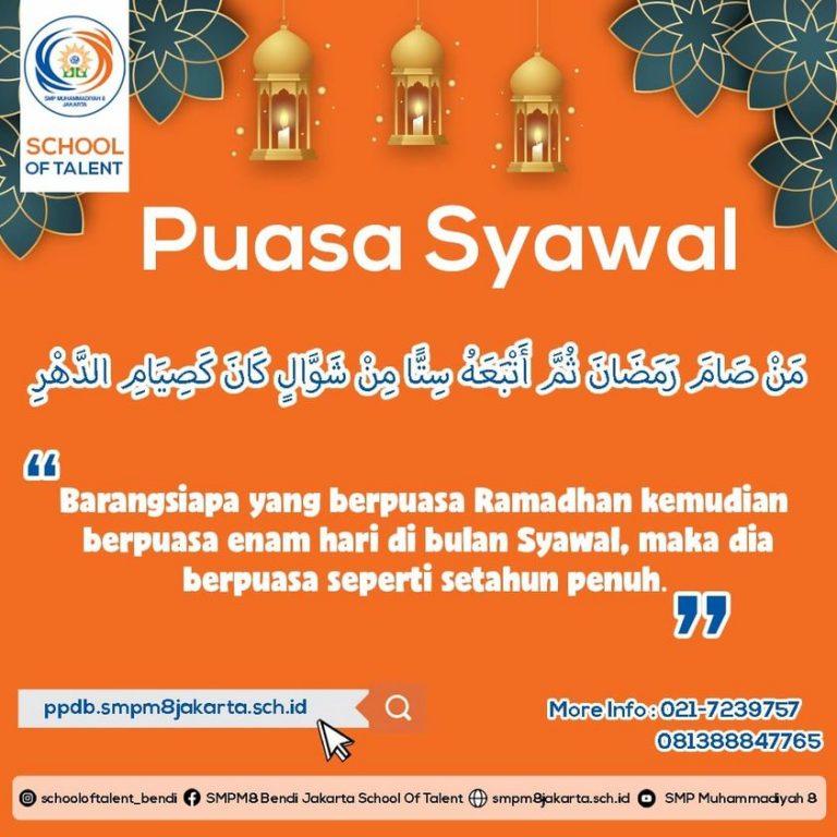 Ayo Puasa Syawal